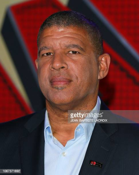 US director Peter Ramsey attends the premiere of Columbia Pictures and Sony Pictures Animation's SpiderMan Into the SpiderVerse in Los Angeles...
