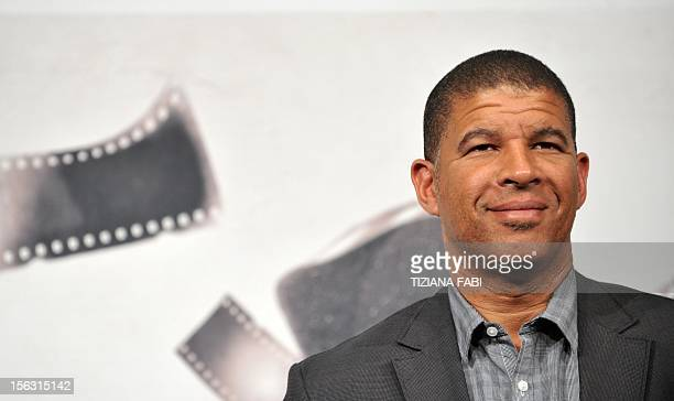 Director Peter Ramsey poses during the photocall of Rise of the Guardians on November 13 2012 during the VIIth edition of Rome film festival Mai...
