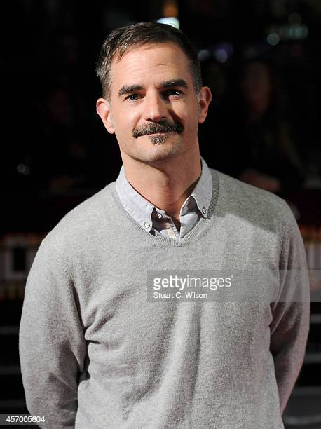 Director Peter Sattler attends the red carpet arrivals of Camp XRay during the 58th BFI London Film Festival at Odeon West End on October 10 2014 in...
