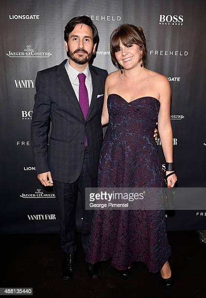 Director Peter Sollett and guest at the Vanity Fair toast of 'Freeheld' at TIFF 2015 presented by Hugo Boss and supported by JaegerLeCoultre at...