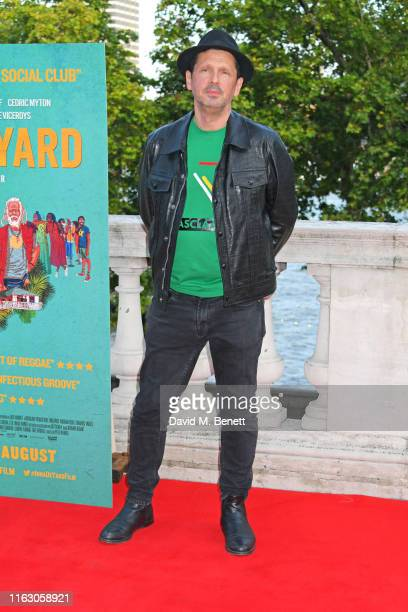 Director Peter Webber attends the UK Premiere and Film4 Summer Screen closing night screening of Inna De Yard at Somerset House on August 21 2019 in...