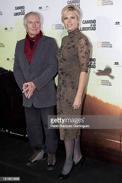 Director Peter Weir and his daughter Ingrid Weir attend The Way Back premiere at Capitol Cinema on December 9 2010 in Madrid Spain