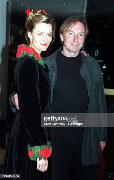 Director Peter Weir arriving for the London gala charity premiere for the Truman Show accompanied by the films female star Natascha McElhone at the...