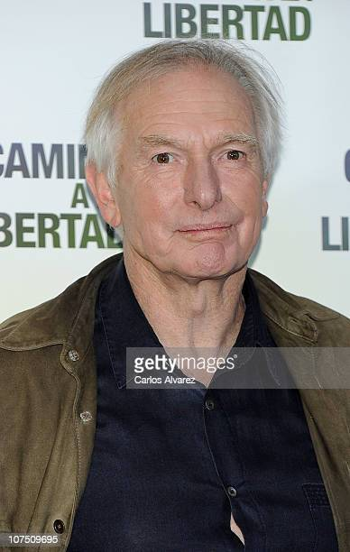 Director Peter Weir attends The Way Back photocall at Eurostar Hotel on December 10 2010 in Madrid Spain