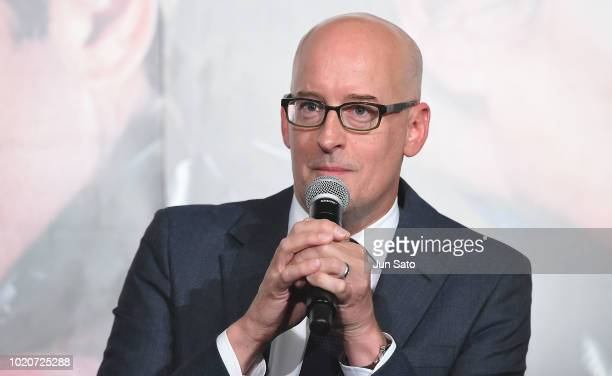 Director Peyton Reed attends the 'AntMan And The Wasp' premiere at Toho Cinemas Shinjuku on August 21 2018 in Tokyo Japan