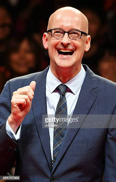 Director Peyton Reed attends the Japan Premiere of AntMan at EX Theater Roppongi on September 15 2015 in Tokyo Japan