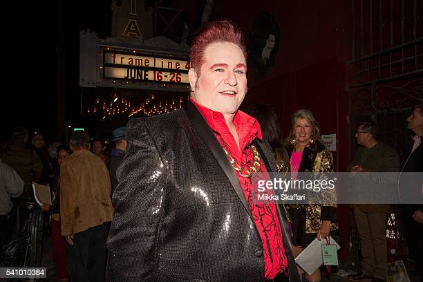 Director Philip R Ford arrives at the 25th Anniversary Screening of 'Vegas in Space' at Frameline40 film festival on June 17 2016 in San Francisco...