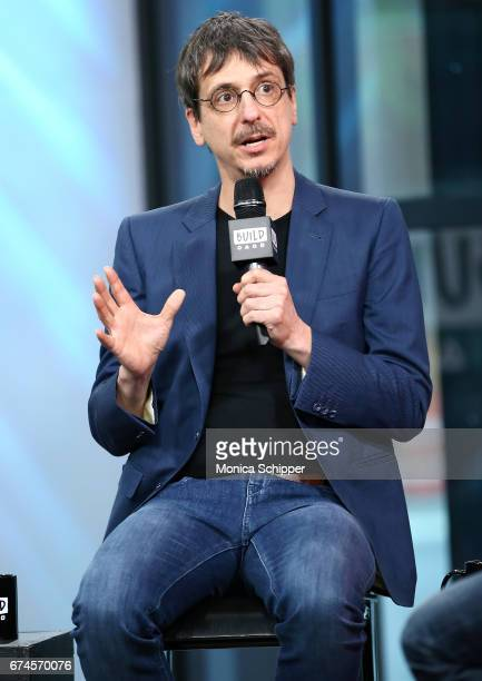 "Director Philippe Falardeau speaks on stage at Build Series Presents Liev Schreiber, Philippe Falardeau and Chuck Wepner Discussing ""Chuck"" at Build..."