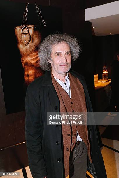 Director Philippe Garel attends the Arthur Aubert Exhibition private view Held at Le Fouquet's Barriere Hotel on February 6 2014 in Paris France