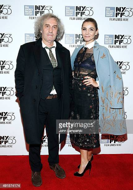 Director Philippe Garrel and Clotilde Courau attend In The Shadow Of Women at Alice Tully Hall Lincoln Center on October 6 2015 in New York City