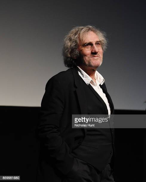 Director Philippe Garrel Speaks at the 55th New York Film Festival presentation of Lover For A Day at Alice Tully Hall on October 10 2017 in New York...