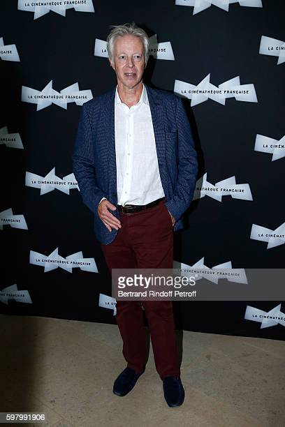 Director Philippe Le Guay attends the Nocturama Paris Premiere at Cinematheque Francaise on August 30 2016 in Paris France