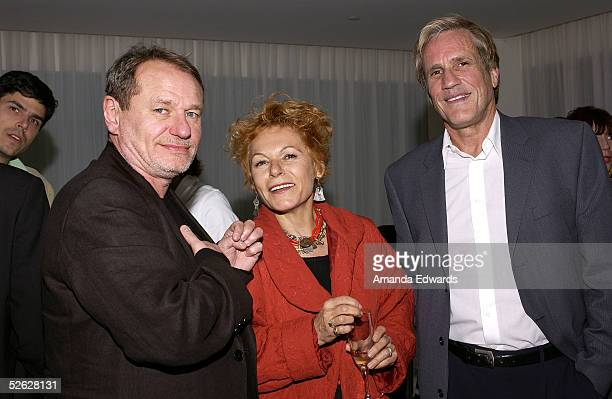 Director Philippe Lioret Caroline du Crocq and Director Randal Kleiser attend the post screening party for the 9th Annual City of Lights City of...