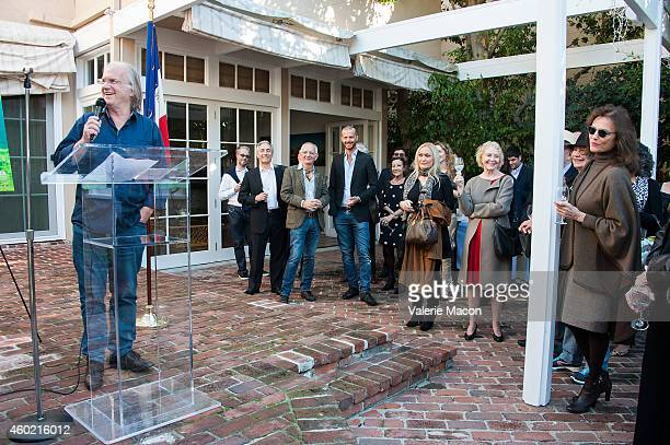 Director Philippe Muyl attends the The Consul General Of France Mr Axel Cruau's Reception For The FrancoChinese CoProduction Of 'The Nightingale' at...