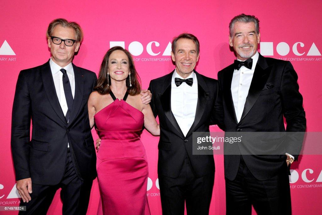 MOCA Gala 2017 Honoring Jeff Koons : News Photo