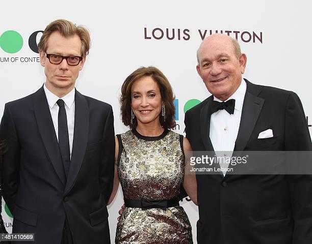 MOCA Director Philippe Vergne MOCA Gala Chair Lilly Tartikoff Karatz and Bruce Karatz attend MOCA's 35th Anniversary Gala presented by Louis Vuitton...