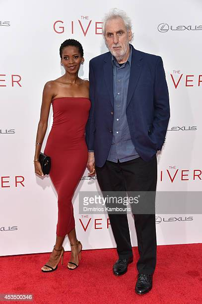 Director Phillip Noyce attends The Giver premiere at Ziegfeld Theater on August 11 2014 in New York City
