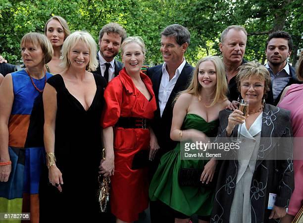 Director Phyllida Lloyd Ashley Lilley Judy Craymer Colin Firth Meryl Streep Pierce Brosnan Amanda Seyfried Colin Firth Julie Walters and Dominic...