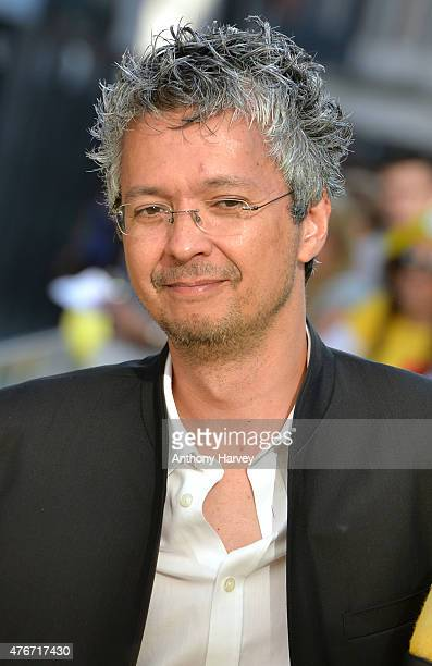 Director Pierre Coffin attends the World Premiere of 'Minions' at Odeon Leicester Square on June 11 2015 in London England