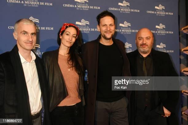 Director Pierre Filmon Laetitia Eido Pierre Rochefort and composer David Hadjadj attend the Awards Ceremony at Palais des Congres of La Baule as part...