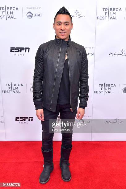 Director PJ Raval attends the premiere of 'Call Her Ganda' during the 2018 Tribeca Film Festival at Cinepolis Chelsea on April 19 2018 in New York...