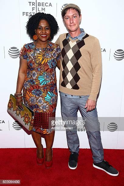 Director Priscilla Anany and Eli WallaceJohansson attend 'Children of the Mountain' Premiere 2016 Tribeca Film Festival at Regal Battery Park Cinemas...