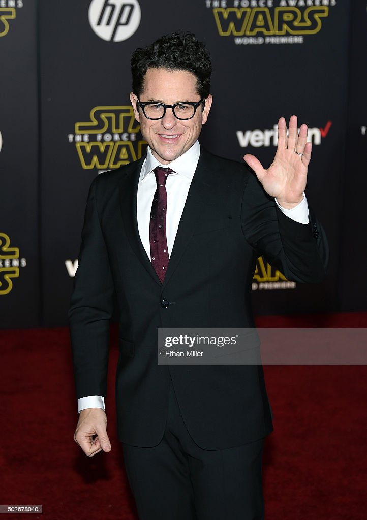 Director, producer and writer J.J. Abrams attends the premiere of Walt Disney Pictures and Lucasfilm's 'Star Wars: The Force Awakens' at the Dolby Theatre on December 14, 2015 in Hollywood, California.
