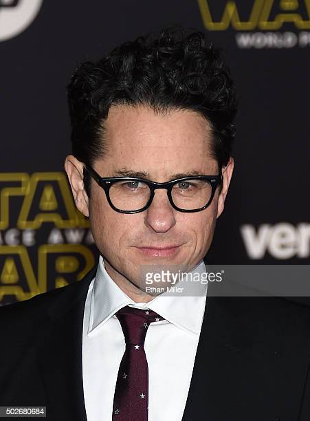 Director producer and writer JJ Abrams attends the premiere of Walt Disney Pictures and Lucasfilm's Star Wars The Force Awakens at the Dolby Theatre...