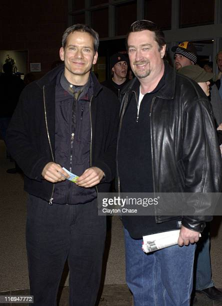 Director / producer Campbell Scott and Geoffrey Gilmore Sundance Film Festival Director