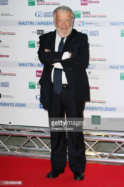 Director Pupi Avati attends the 74th edition of the Nastri D'Argento 2020 on July 06 2020 in Rome Italy