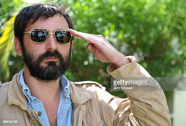 Director Quentin Dupieux aka Mr Oizo attends the 'Rubber Portraits and Kaboom' Portraits at the Residence All Suites during the 63rd Annual Cannes...