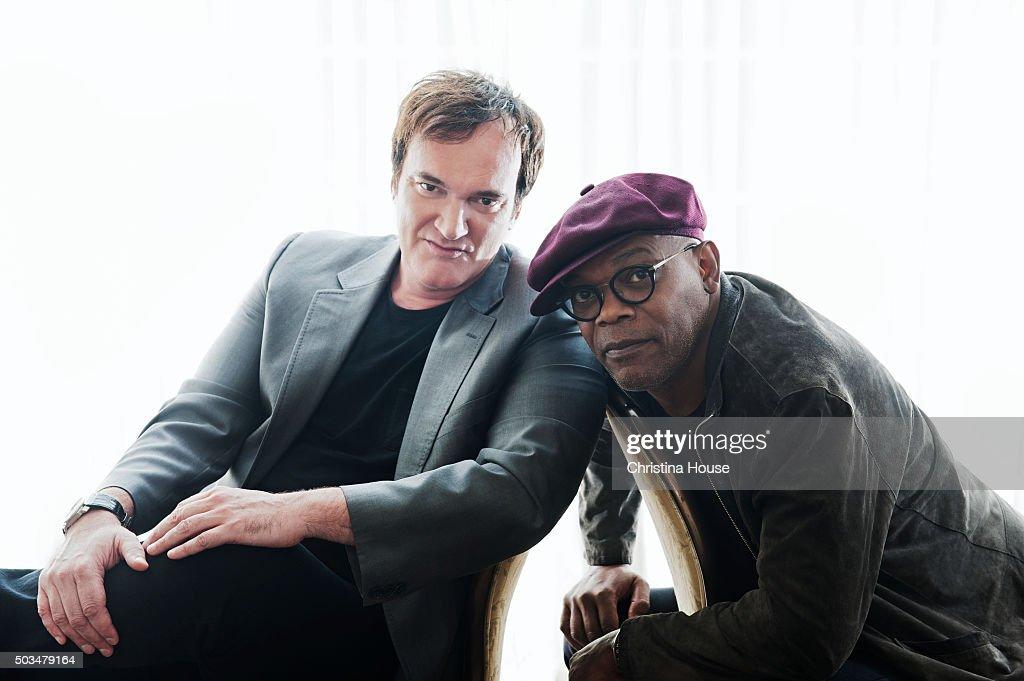 Samuel L. Jackson and Quentin Tarantino, LA Times, December 31, 2015