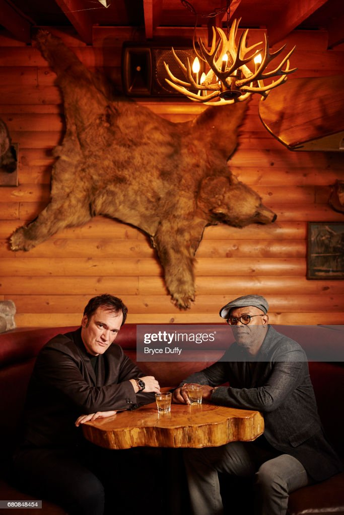 Director Quentin Tarantino and actor Samuel L. Jackson photographed for Variety on October 5, 2015, in Los Angeles, California.