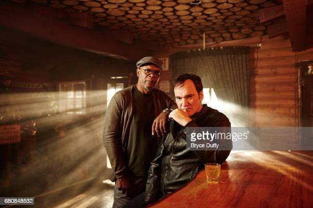 Director Quentin Tarantino and actor Samuel L Jackson photographed for Variety on October 5 in Los Angeles California