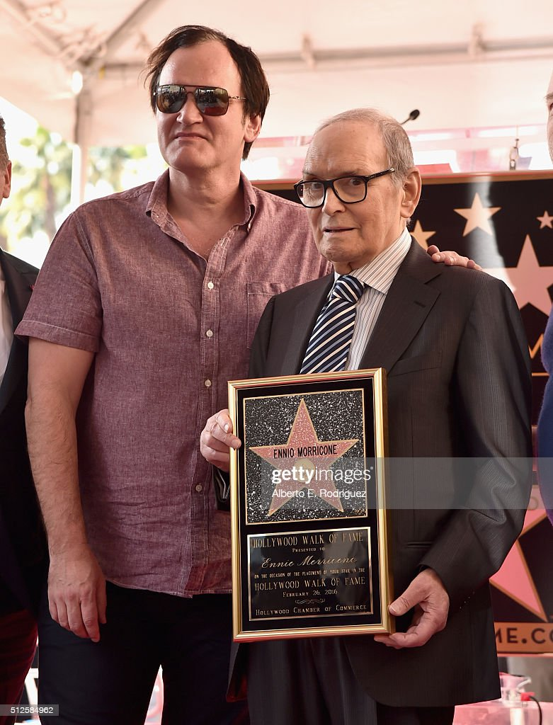 Ennio Morricone Honored With Star On The Hollywood Walk Of Fame