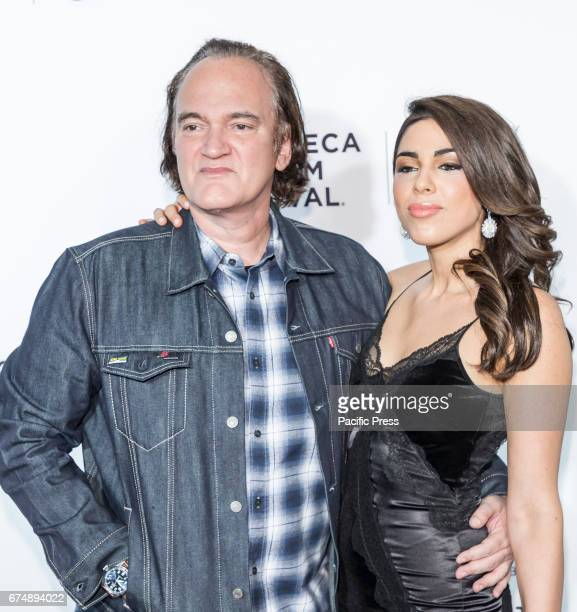 Director Quentin Tarantino and Courtney Hoffman attend 25th Anniversary Retrospective Screening of Reservoir Dogs at The 2017 Tribeca Film Festival...