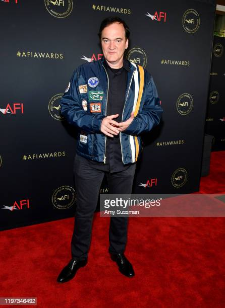 Director Quentin Tarantino attends the 20th Annual AFI Awards at Four Seasons Hotel Los Angeles at Beverly Hills on January 03 2020 in Los Angeles...