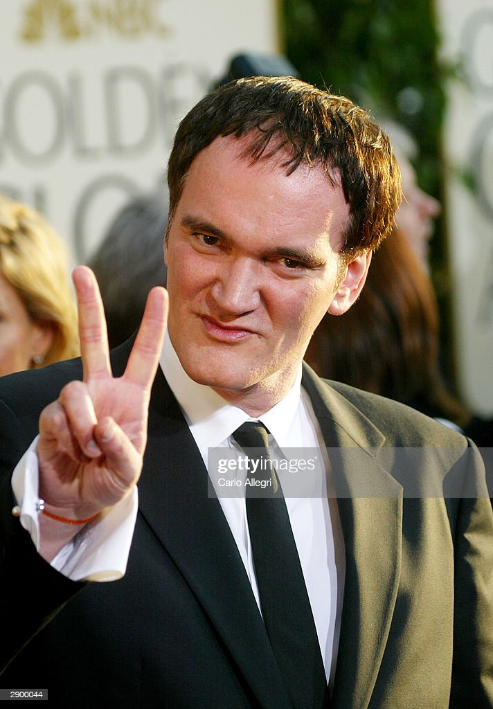 Director Quentin Tarantino attends the 61st Annual Golden Globe Awards at the Beverly Hilton Hotel on January 25, 2004 in Beverly Hills, California.