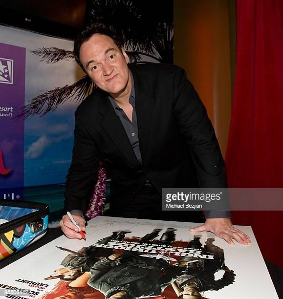 Director Quentin Tarantino attends the BFCA Critics' Choice Movie Awards at Hollywood Palladium on January 15 2010 in Hollywood California