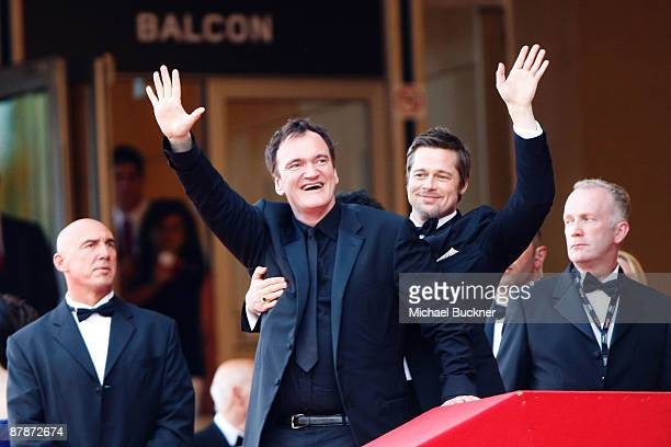 Director Quentin Tarantino attends the Inglourious Basterds Premiere held at the Palais Des Festivals during the 62nd International Cannes Film...