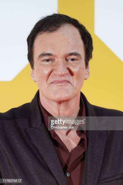Director Quentin Tarantino attends the Japan premiere of 'Once Upon A Time In Hollywood' on August 26, 2019 in Tokyo, Japan.