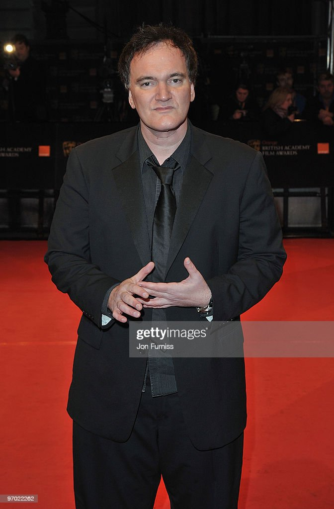 Director Quentin Tarantino attends the Orange British Academy Film Awards 2010 at the Royal Opera House on February 21, 2010 in London, England.