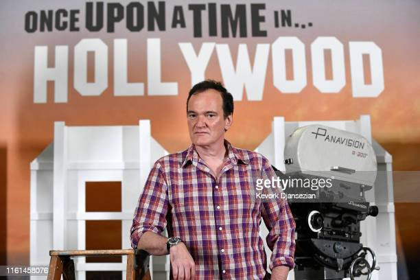 Director Quentin Tarantino attends the photo call for Columbia Pictures' Once Upon A Time In Hollywood at Four Seasons Hotel Los Angeles at Beverly...