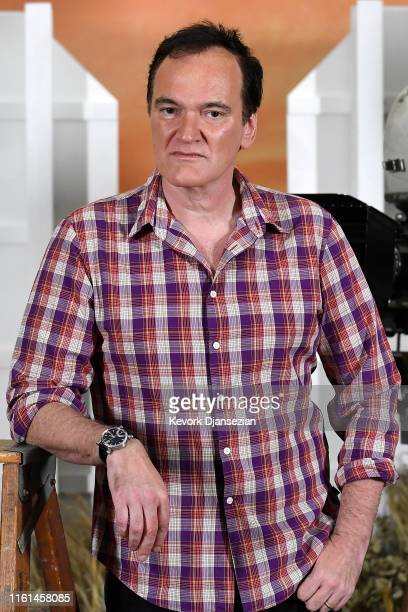 "Director Quentin Tarantino attends the photo call for Columbia Pictures' ""Once Upon A Time In Hollywood"" at Four Seasons Hotel Los Angeles at Beverly..."