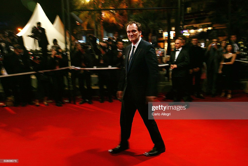 Director Quentin Tarantino attends the premiere of 'House of Flying Daggers' atthe Palais de Festival during the 57th Annual International Cannes Film Festival May 19, 2004 in Cannes, France.