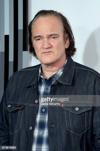 Director Quentin Tarantino attends the 'Reservoir Dogs' Screening during 2017 Tribeca Film Festival on April 28 2017 in New York City