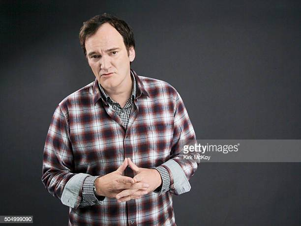 Director Quentin Tarantino is photographed for Los Angeles Times on December 4 2015 in Los Angeles California PUBLISHED IMAGE CREDIT MUST READ Kirk...
