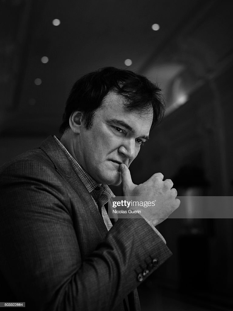 Director Quentin Tarantino is photographed for Positif on December 12, 2015 in Paris, France.