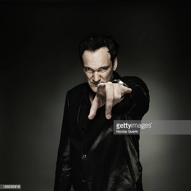 Director Quentin Tarantino is photographed for Self Assignment on May 20 2008 in Cannes France