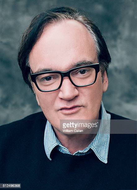 Director Quentin Tarantino poses for a portrait at the 18th Costume Designers Guild Awards at The Beverly Hilton Hotel on February 23 2016 in Beverly...